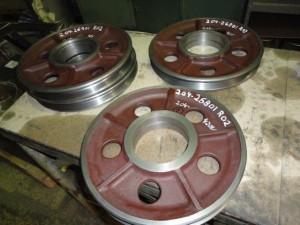 Wirehjul Ø273mm. støpejern EN-GJL-250